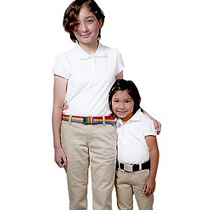 girls school uniform belt