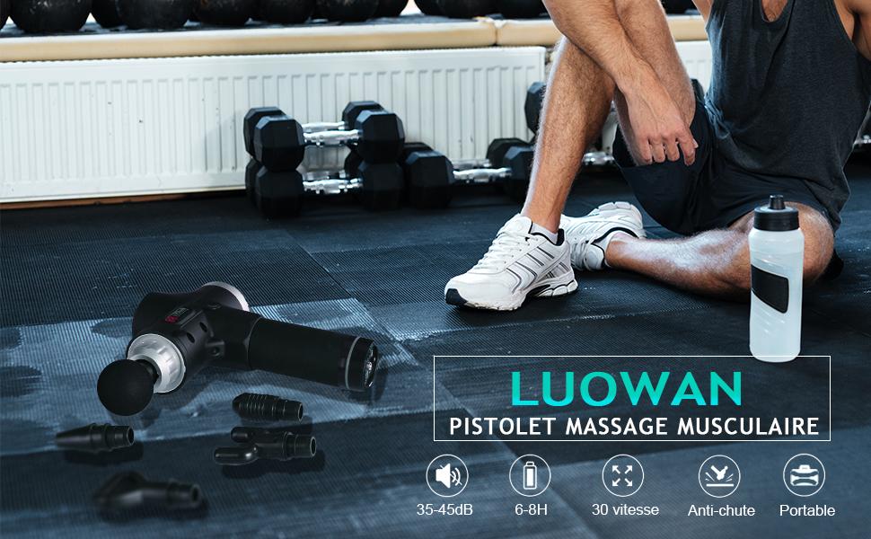 Pistolet de Massage Muscularire