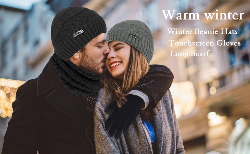 winter set for men women