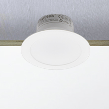 Lamparas Focos Empotrables LED Techo 8W Downlight LED Luz Calida 3000K Agujero Φ70-85MM AC100~240V IP44 para Cocina Baño Salon Lot de 3 de Enuotek