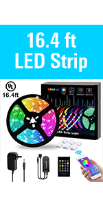 Amazon Com Led Strip Lights L8star Color Changing Rope