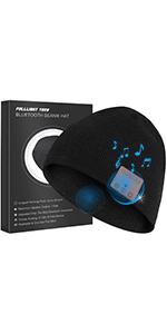 bluetooth beanie hat headphones