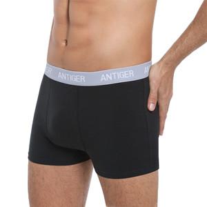 -Pack Breathable Men Trunks Underwear,Short Leg,No Fly 7or4 ANTIGER Mens Underwear Trunks Cotton,