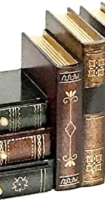 Book Shelf Holder Home Decorative, Pair, Bookend Supports, Book Stoppers