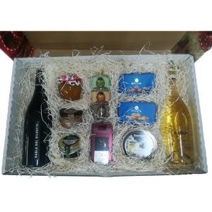Selección gourmet en cesta de regalo para obsequios: Amazon.es: Alimentación y bebidas