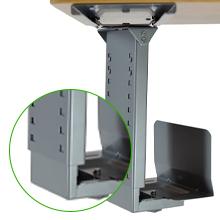 Under Desk CPU Holder Standing Desk Accessory Stand Up Desk Accessories Desk Organizer