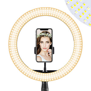 Selfie Ring Light Tripod Stand Camera Remote Shutter Photography ring light dimmable LED makeup