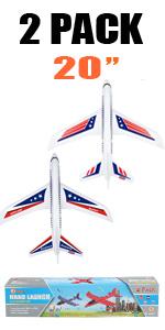 "2 pack 20"" airplane"
