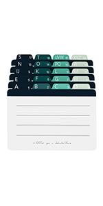 Index Cards 4''x 6''