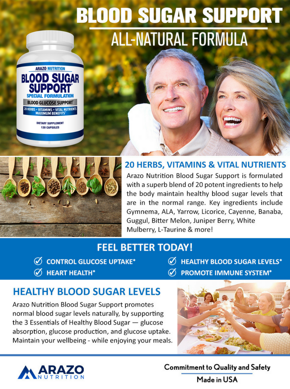 Blood Sugar support Blood Glucose support