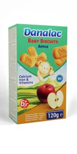 Baby Biscuits Apple