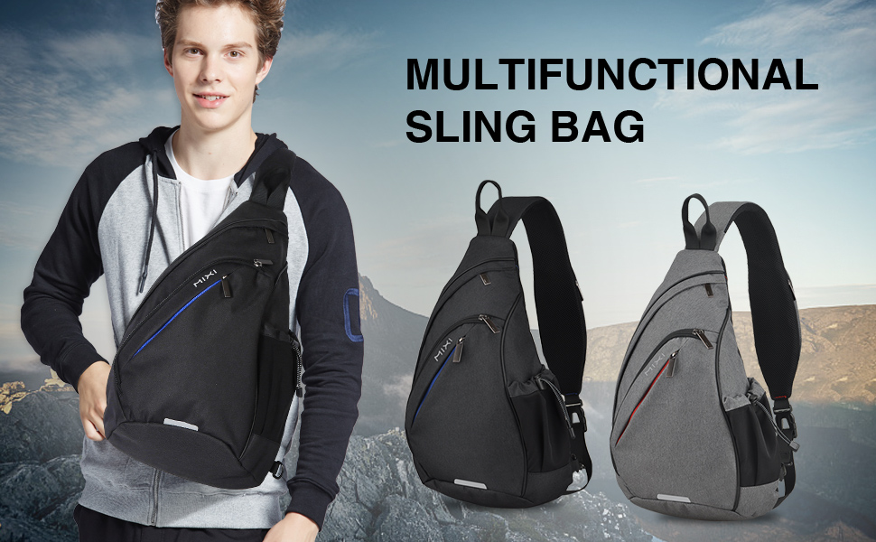 sling bag wish USB port