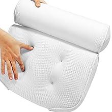 soft bathtub pillow