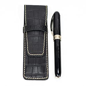 DiLoro Leather Single One pen pencil sleeve holder
