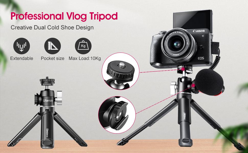Professional Vlog Tripod