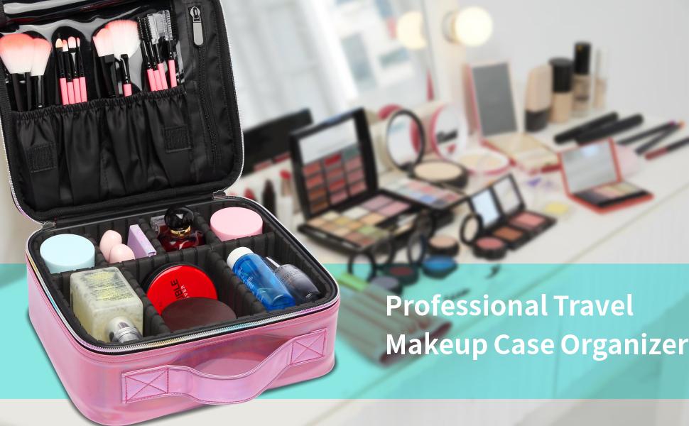 makeup case pink