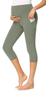 maternity workout leggings withe pockets - 19 Inches