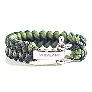paracord surviva bracelet outdoorsman gifts  survival tools  hiking gear for men  cool camping gifts