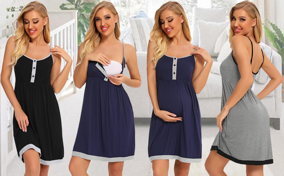 breastfeeding nightgowns for women