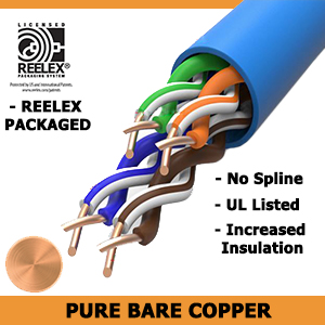 cat6 plenum solid bare copper