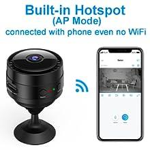 Flashandfocus.com 74a39ba3-4add-4e3a-8ab6-03e15de59021.__CR0,0,300,300_PT0_SX220_V1___ Mansso Mini Hidden Camera - 1080P Wireless WiFi Nanny Cam Home Camera,Small Portable Camera with Watch Band,Micro…