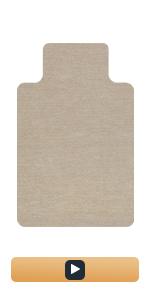 Chair Mat -beige