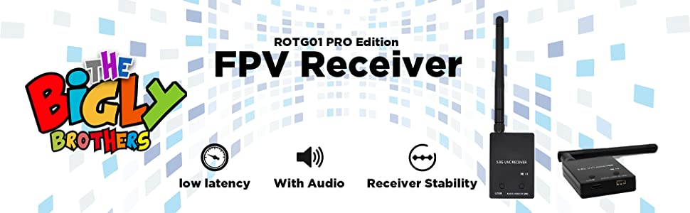 The Bigly Brothers ROTG01 PRO Edition Fpv receiver