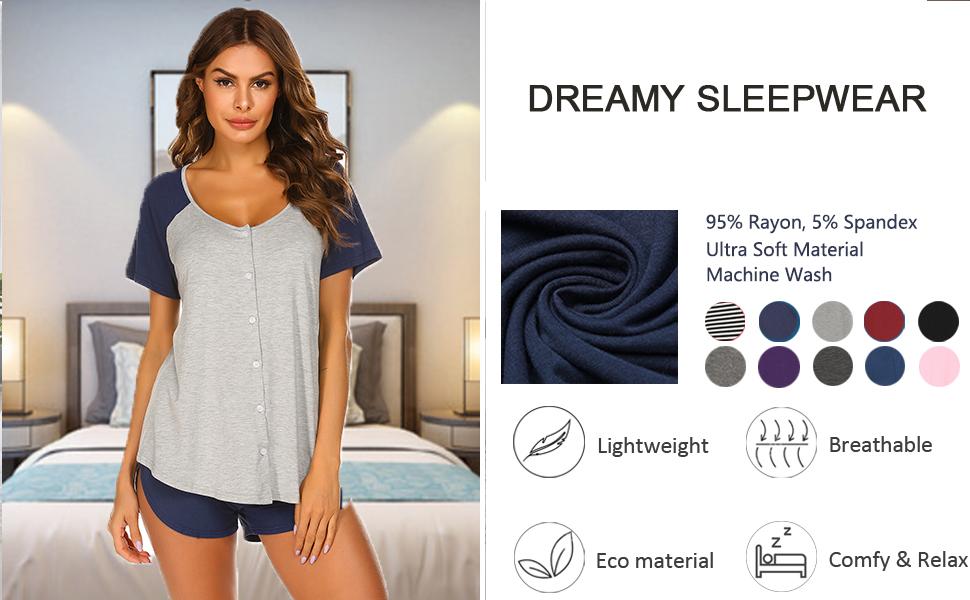 Short Sleeve Sleepwear