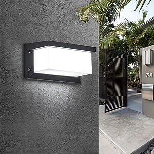 aluminio Focos pared arriba aluminio Focos pared acrílico LED aluminio apliques pared oficina