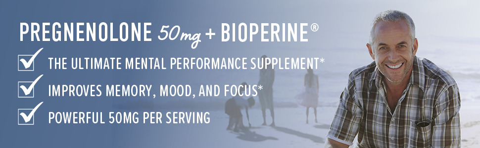 ultimate mental performance supplement improves memory mood and focus powerful 50mg per serving