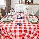 Buffalo Plaid Round Tablecloth