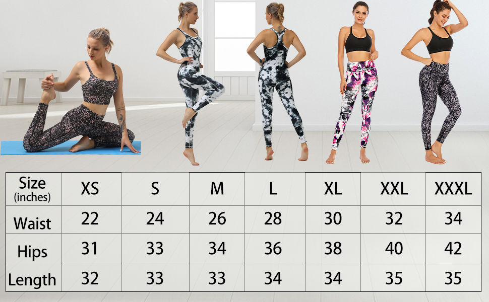 plus size yoga pants workout leggings activewear leopard print snakeprint patterned sports leggings