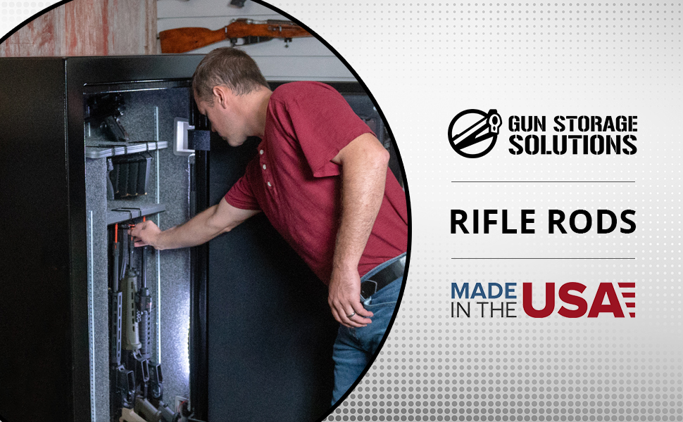 Rifle Rods by Gun Storage Solutions