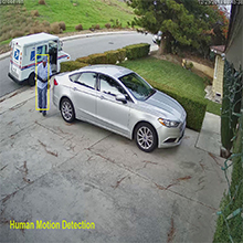 ai human motion detection