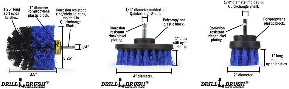 Blue brush spec