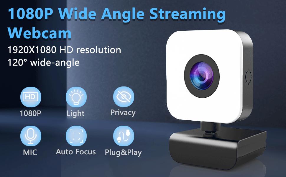webcam with light