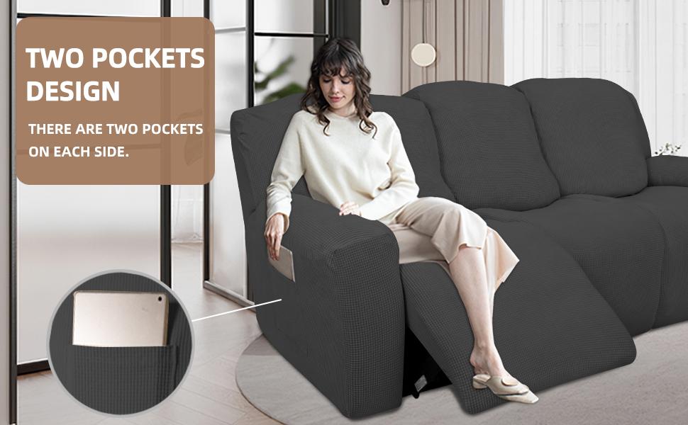 recliner loverseat sofa slipcover