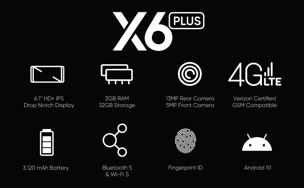 X6 PLUS SPEC