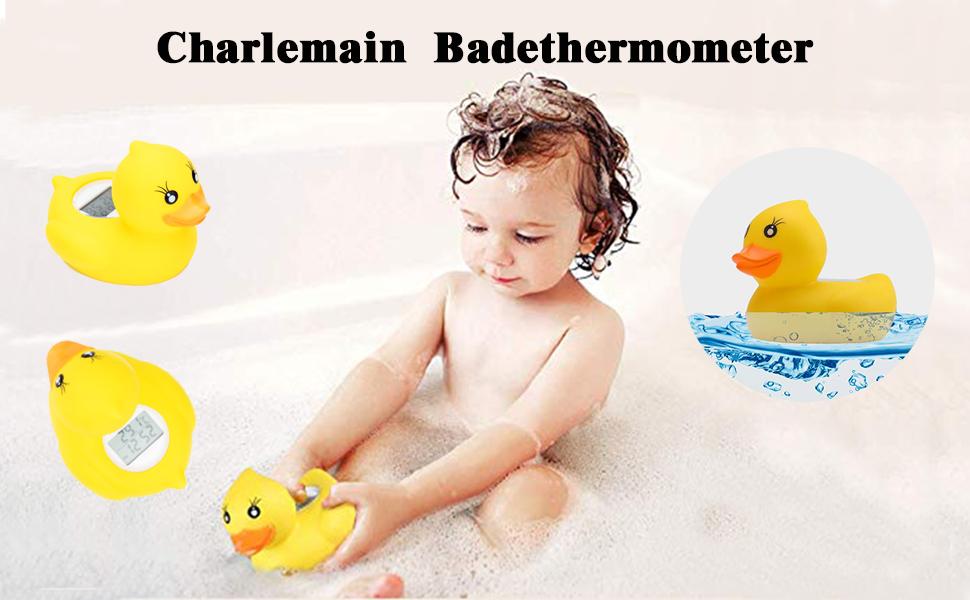 das weiches Spielzeug schwimmt lustiges Babythermometer schwimmendes digitales Badewasserthermometer-Baby barsku Badethermometer