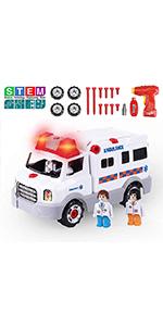 Ambulance Car Toy
