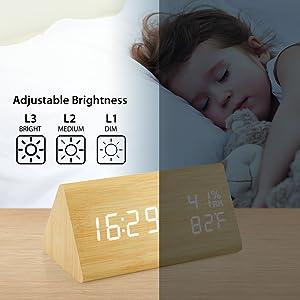 Adjustable Brightness
