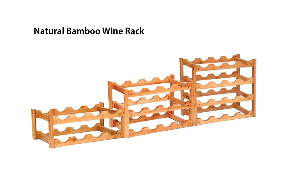 wine rack countertop