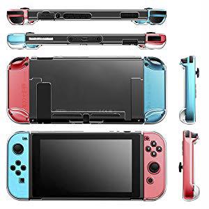 16 en 1 Kit de Accesorios para Nintendo Switch, Funda para Nintendo Switch con 10 Cartucho de Juego | Carcasa de Silicona y Plastico | Protector de Pantalla | Tapas para Joystick | Soporte Ajustable: Amazon.es: Videojuegos