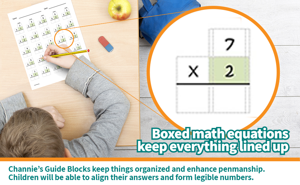 boxes math equations keep everything lined up easy to plac
