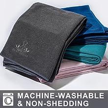 stickyfiber yoga towel