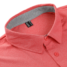 polo shirts for men workout slim fit cotton fitness pocket t-shirt hiking climbing camping hiking