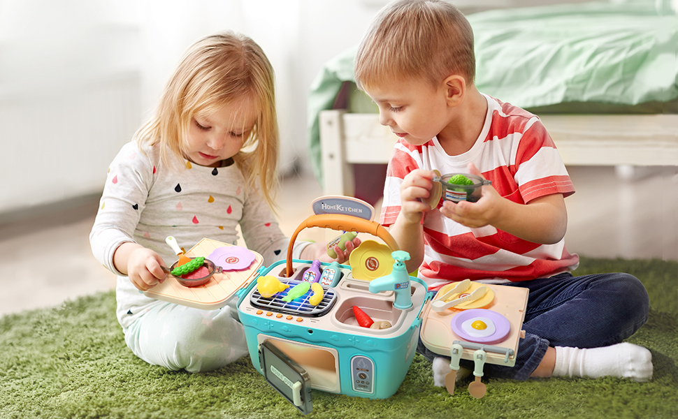 picnic kitchen toy set