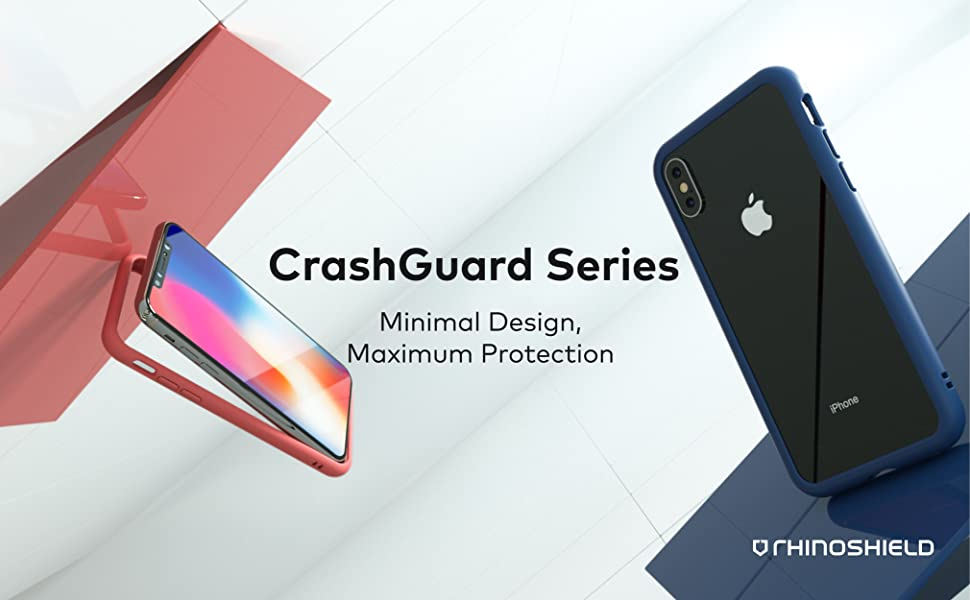 Amazon.com: RhinoShield Ultra Protective Bumper Case Compatible with  [iPhone Xs/X] | CrashGuard - Military Grade ...