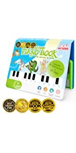 educational learning piano music book toy polyphonic keyboard instrument sounds toddlers kids