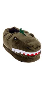 dinosaur slippers